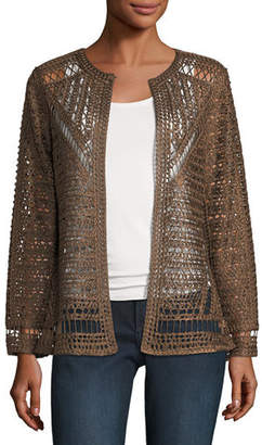 Berek Crochet Topper Jacket