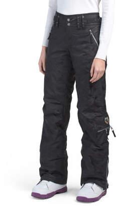 Long Cargo Ski Pants