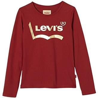 Levi's Kids Girl's LS Tee Midnight Longsleeve T-Shirt