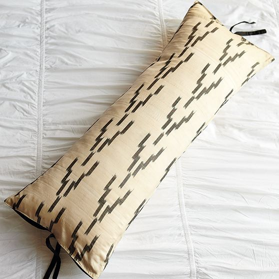 Hand Loomed Ikat Pillow Cover
