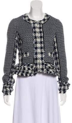 Tory Burch Tweed Embellished Jacket