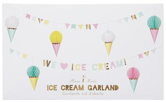 Ice Cream Party Garland $17 thestylecure.com