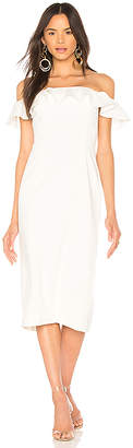 Jay Godfrey Rollins Midi Dress