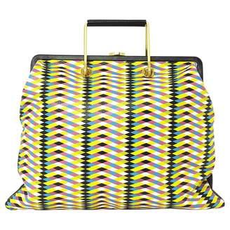 Lulu Guinness Multicolour Leather Handbag
