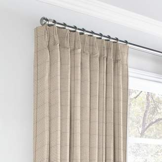 Loom Decor Euro Pleat Drapery La Crossed - Safari