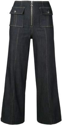 Cinq à Sept Azure trousers