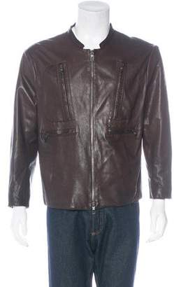 Giorgio Armani Lambskin Utility Jacket