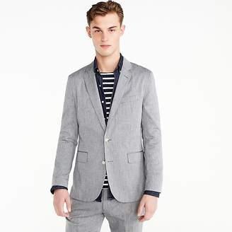 J.Crew Ludlow Slim-fit unstructured suit jacket in stretch cotton