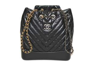Chanel Gabrielle leather backpack