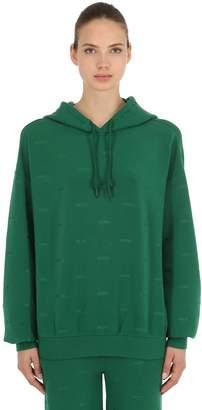 Logo Embroidered Sweatshirt Hoodie