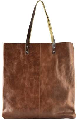 05598311191a Kiko Leather Brown Classy Leather Tote Bag