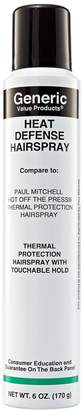 Paul Mitchell Generic Value Products Heat Defense Hairspray Compare to Express Style Hot off the Press