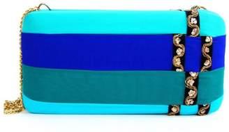 Simitri Designs - Blue Lay Clutch