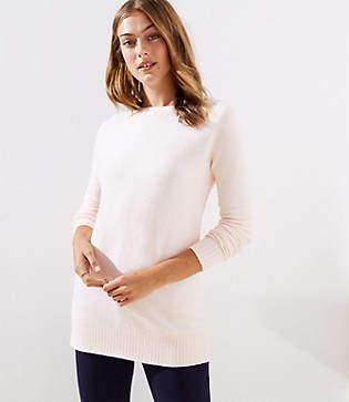 LOFT Petite Boatneck Tunic Sweater