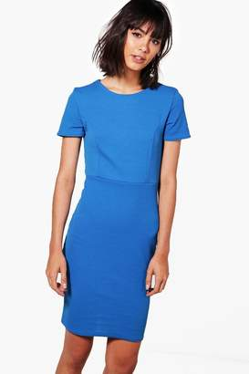 boohoo Fitted Tailored Dress