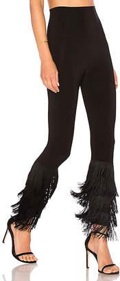 Norma Kamali Fringe Hem Legging