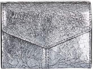 Sandro Metallic Leather Lou Wallet