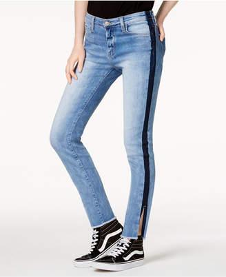 Flying Monkey Side-Stripe Ankle Skinny Jeans