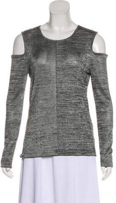 Rag & Bone Long Sleeve Cold-Shoulder Top