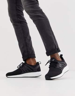 Ea7 EA7 minimal run trainers in black