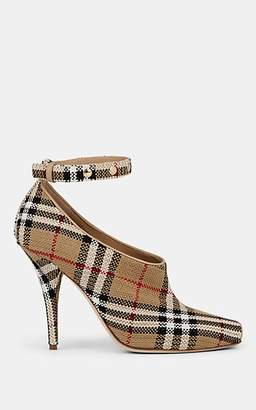 Burberry Women's Blyth Ankle-Strap Pumps - Beige, Tan
