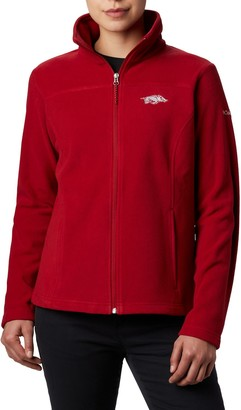NCAA Women's Arkansas Razorbacks Collegiate Give and Go II Full Zip Fleece Jacket