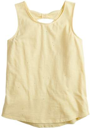 So Girls 7-16 & Plus Size SO Bow Back Tank Top
