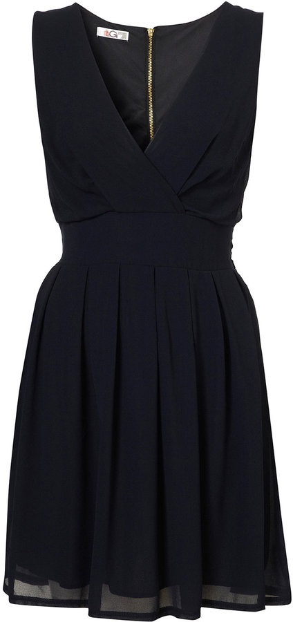 Cross Bust Dress by Wal G**
