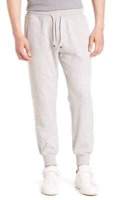 Brunello Cucinelli Cashmere-Blend Banded Sweatpants