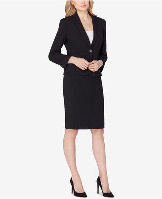 Tahari ASL Single-Button Skirt Suit $280 thestylecure.com