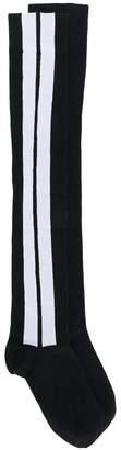 Palm Angels contrast stripe socks