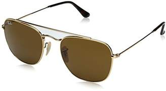 Ray-Ban Men's Metal Man Square Sunglasses