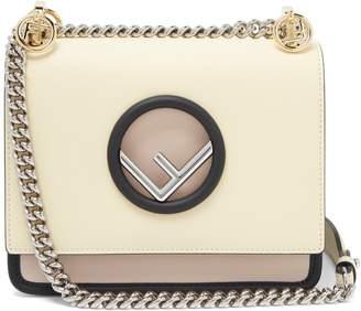 Fendi Kan I mini leather cross-body bag