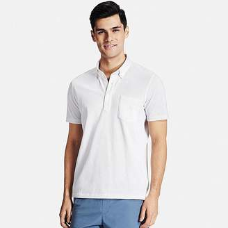 UNIQLO Men's Dry Comfort Button-down Collar Polo Shirt $24.90 thestylecure.com