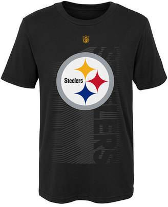 Outerstuff Pittsburgh Steelers Jump Speed T-Shirt, Little Boys (4-7)