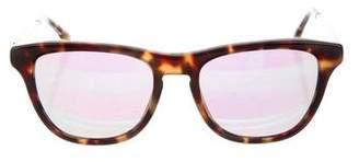 Stella McCartney Tortoiseshell Mirrored Sunglasses