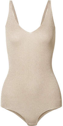Brunello Cucinelli Lurex Bodysuit - Gold