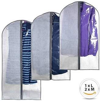 Perfect Garment Bags for Suits - Dress Suit Bag Set for Easy Storage or Travel