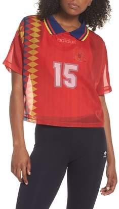 adidas Soccer Jersey Layer Tee