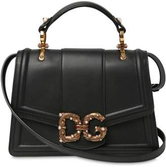 Dolce & Gabbana Regular Amore Nappa Leather Bag