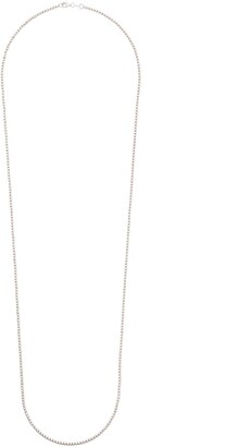 Carolina Bucci 18kt white gold Long Disco Ball necklace