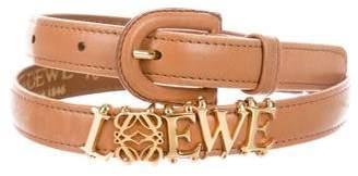 Loewe Logo Waist Belt