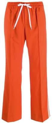 Miu Miu low rise track trousers