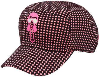 Fendi Karlito spotted cap