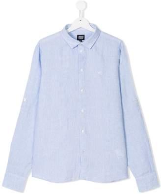 Armani Junior TEEN classic collar shirt
