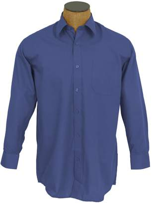 Blend of America Sunrise Outlet Men's Solid Color Cotton Dress Shirt - 16 34-35