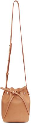 Mansur Gavriel Tan Mini Mini Bucket Bag $395 thestylecure.com