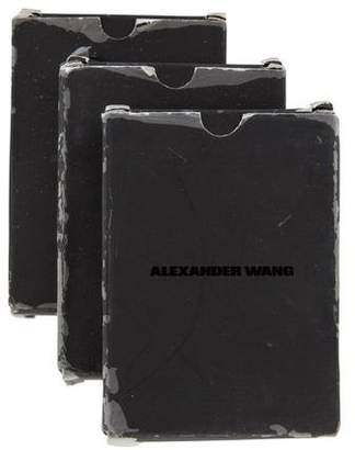 Alexander Wang Set of 3 Deck of Playing Cards