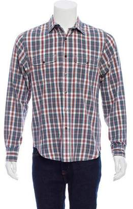 Jack Spade Gingham Button-Up Shirt