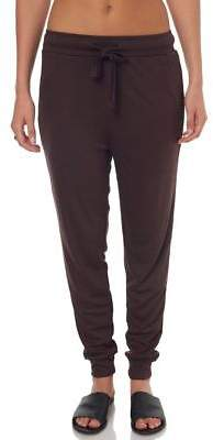 Swell New Women's Mystic Silky Jersey Trousers Viscose Elastane Black